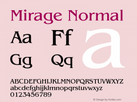 Mirage Normal Version 001.000图片样张