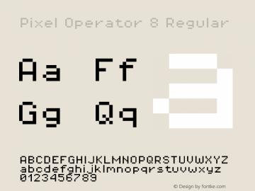 Pixel Operator 8 Regular Version 1.4.0 (August 12, 2015)图片样张