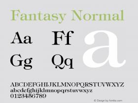 Fantasy Normal Version 001.000图片样张