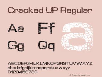 Cracked UP Regular Version 1.00 November 18, 2012, initial release图片样张
