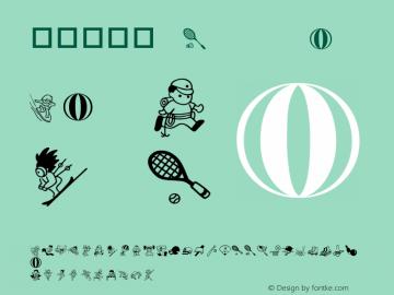 華康運動篇 Regular Version 1.01 Font Sample