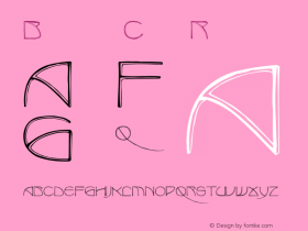BenjaminCaps Regular Converted from C:\TTFONTS\BENJACAP.TF1 by ALLTYPE Font Sample