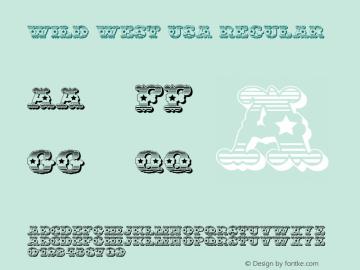 Wild West USA Regular Version 1.0; 2001; initial release图片样张
