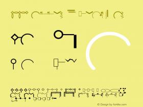 MMPattern Regular Altsys Fontographer 3.5  11/13/92 Font Sample