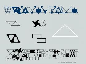 MMCheckered Regular Altsys Fontographer 3.5  11/13/92 Font Sample