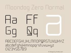 Moondog Zero Normal Version 001.000图片样张