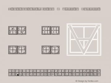 XperimentypoThree-C-Square Regular 1.0 Font Sample