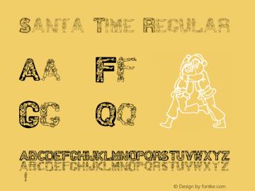 Santa Time Regular Version 1.0; 2001; initial release图片样张