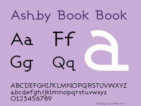 Ashby Book Book Version 001.000图片样张