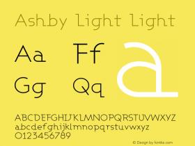 Ashby Light Light Version 001.000图片样张