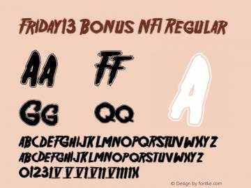 Friday13 Bonus NFI Regular 1.1图片样张
