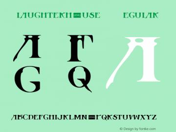 Slaughterhouse DEMO Regular 1.0 Font Sample
