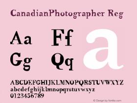 CanadianPhotographer Reg Version 001.000图片样张