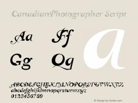 CanadianPhotographer Script Version 001.000图片样张