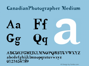 CanadianPhotographer Medium Version 001.000图片样张