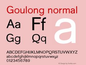 Goulong normal Version 001.001图片样张