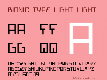 Bionic Type Light Light 1图片样张
