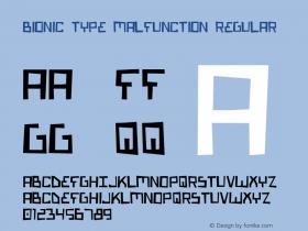 Bionic Type Malfunction Regular 1图片样张