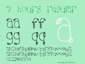 7 hours Regular Revision 1: 9.2.97图片样张