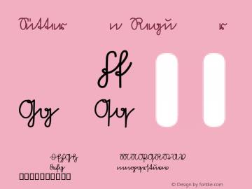 Sütterlin Regular Macromedia Fontographer 4.1 3/7/97 Font Sample
