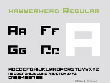 hammerhead Regular Unknown图片样张