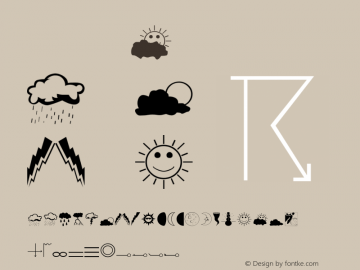 Weather Regular OTF 1.0;PS 0.000;Core 116;AOCW 1.0 161 Font Sample
