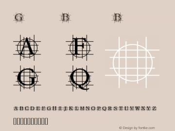 GrafBold Bold Macromedia Fontographer 4.1.3 07.01.2002 Font Sample