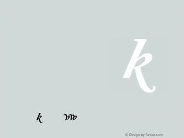 Adobe Caslon AltBoldItalic Version 001.001 Font Sample