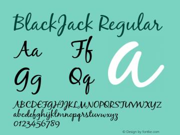 BlackJack Regular 001.000图片样张