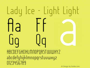 Lady Ice - Light Light Version 001.000图片样张