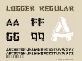 Logger Regular Version 001.021 Font Sample