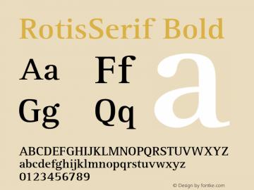 RotisSerif Bold Converter: Windows Type 1 Installer V1.0d.