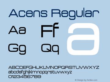 fonte acens-normal