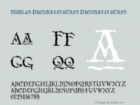 Merlin-DecorativeCaps DecorativeCaps Version 001.000图片样张