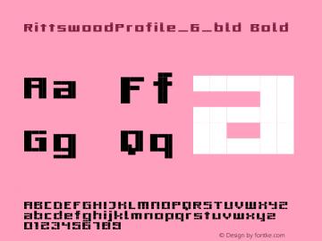 RittswoodProfile_6_bld Bold 1.0图片样张