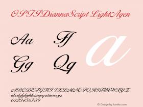 OPTIDiannaScript LightAgen Version 001.000图片样张
