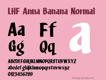 LHF Anna Banana Normal Version 001.001图片样张