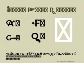 Infini Picto Regular Version 1.003;PS 1.3;hotconv 1.0.72;makeotf.lib2.5.5900 Font Sample