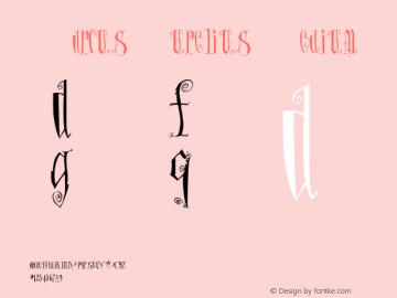 MarcusAurelius Medium Version 001.000 Font Sample