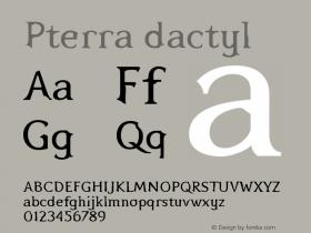 Pterra dactyl Version 001.000图片样张
