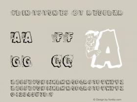 Flintstones BT Regular mfgpctt-v1.51 Monday, December 28, 1992 10:37:37 am (EST) Font Sample