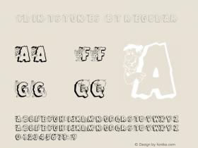 Flintstones BT Regular mfgpctt-v1.46 Friday, October 2, 1992 1:46:06 pm (EST) Font Sample