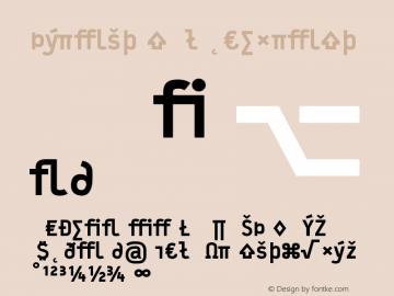 Typestar BlackExpert Version 001.000 Font Sample