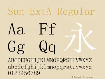 Sun-ExtA Regular Version 5.4图片样张