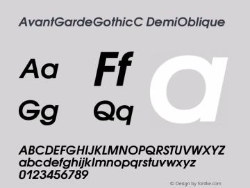 Cyrillic Gothic Font
