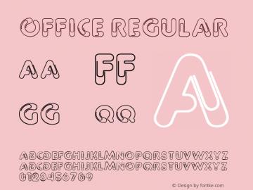 Office Regular 001.003图片样张
