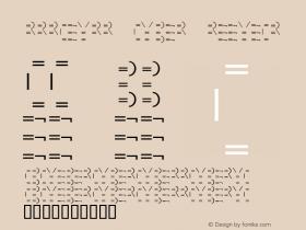 MMMteurs Cyber Regular Unknown Font Sample