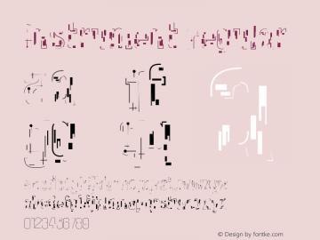 Instrument Regular Version 001.000 Font Sample