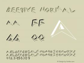 Beehive Normal Version 1.0 Font Sample