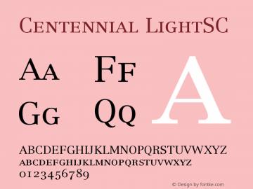 Centennial LightSC Version 001.000图片样张